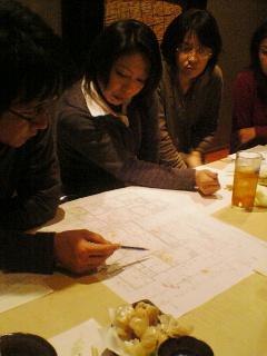 町屋3号館検討会議。