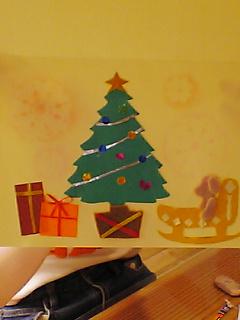 クリスマス会準備。